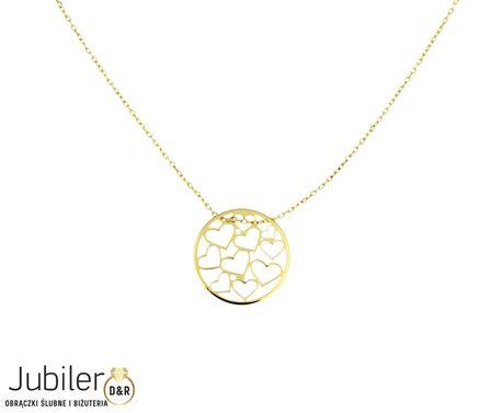 Naszyjnik złoty pr 585 (1)