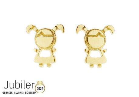 Kolczyki złote pr.585  (1)