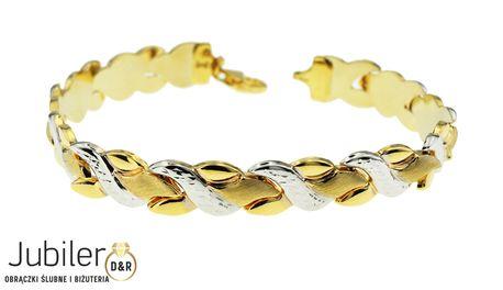 Bransoletka złota pr 585 (1)
