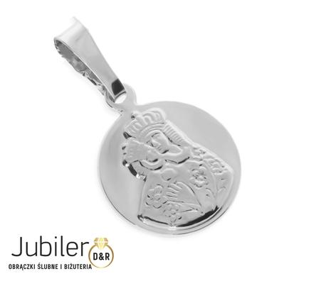 Medalik srebrny  pr.925 Matka Boska  (1)