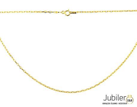 Łańcuszek złoty  pr 585  ankier  (1)