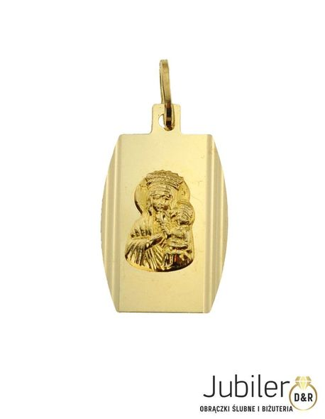 Wisiorek złoty pr.585 Blaszka  (1)