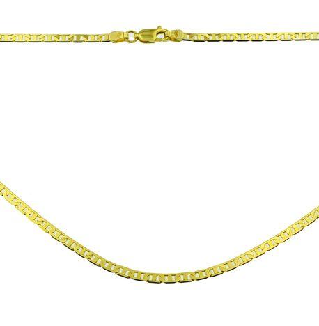 Łańcuszek złoty  pr 585 bananino pełny  (1)