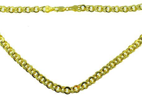 Łańcuszek złoty  pr 585 garibaldi (1)
