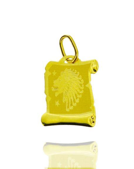 Znak zodiaku złoty próby 585 Lew (1)
