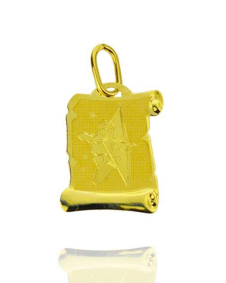 Znak zodiaku złoty próby 585 Strzelec (1)