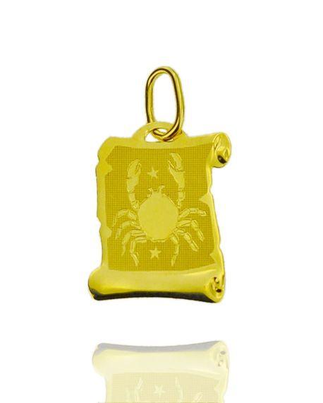 Znak zodiaku złoty próby 585 Rak (1)