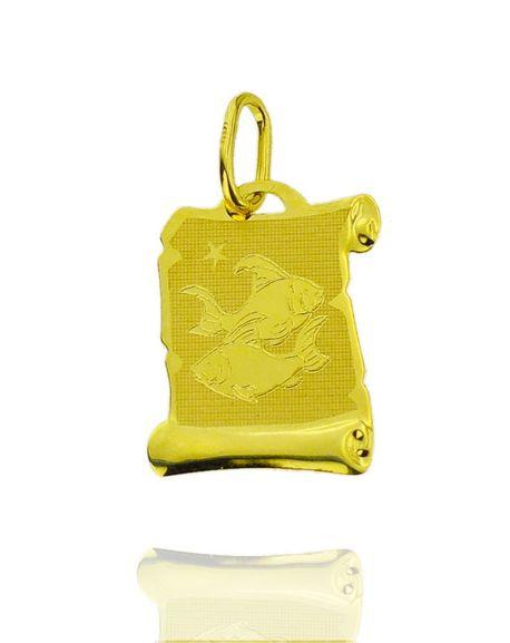 Znak zodiaku złoty próby 585 Ryby (1)