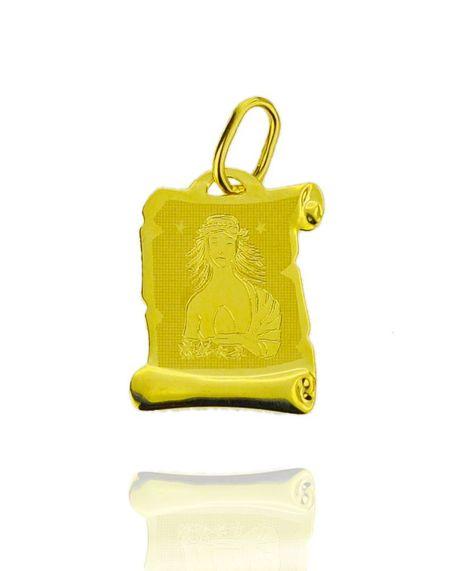 Znak zodiaku złoty próby 585 Panna (1)