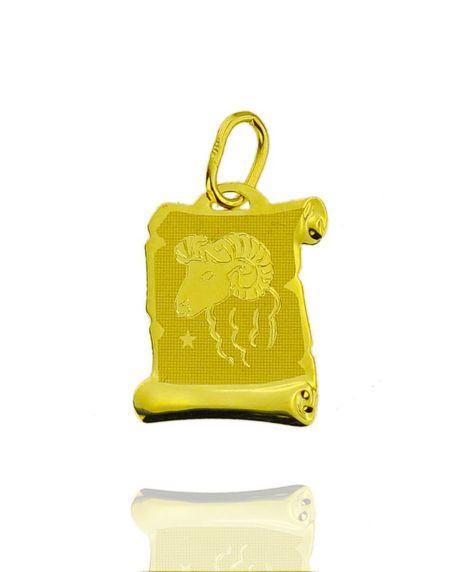 Znak zodiaku złoty próby 585 Baran (1)