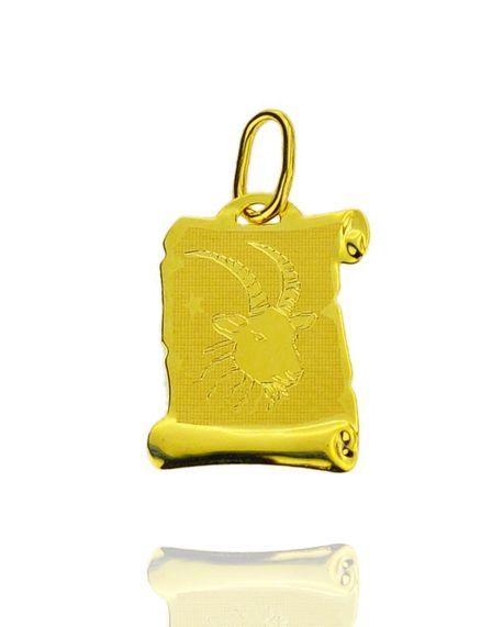 Znak zodiaku złoty próby 585 Koziorożec  (1)