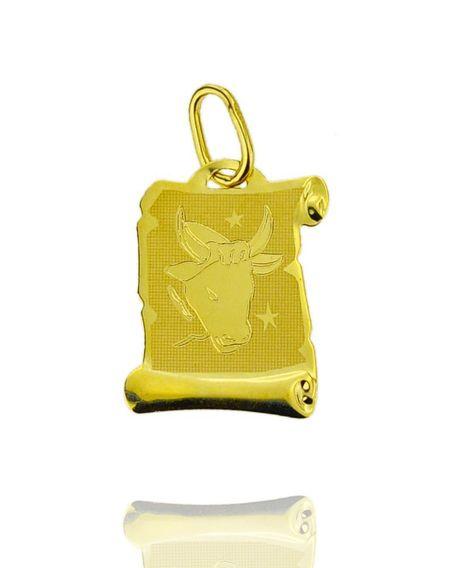 Znak zodiaku złoty próby 585 Byk (1)