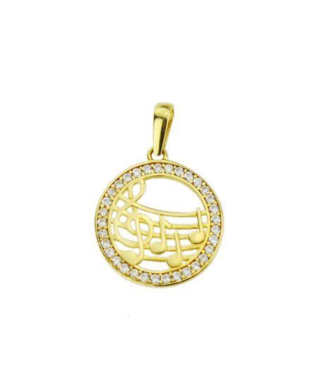 Wisiorek złoty pr.585 nuty  (1)
