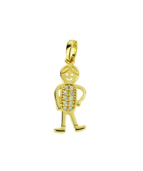 Wisiorek złoty pr.585 chłopiec (1)