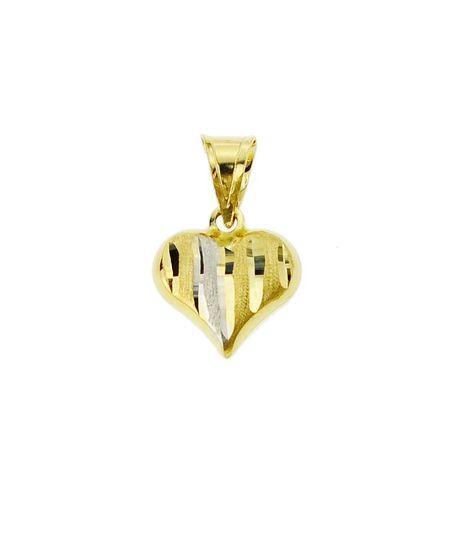 Wisiorek złoty pr.585 serduszko (1)