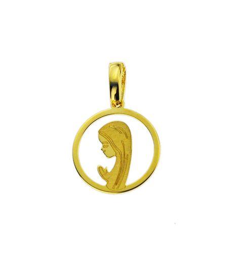 Wisiorek złoty pr.585 Matka Boska  (1)