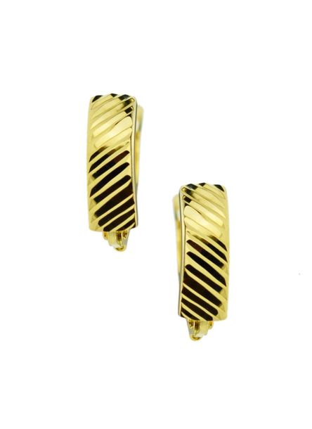 Kolczyki złote pr.585 diamentowane  (1)