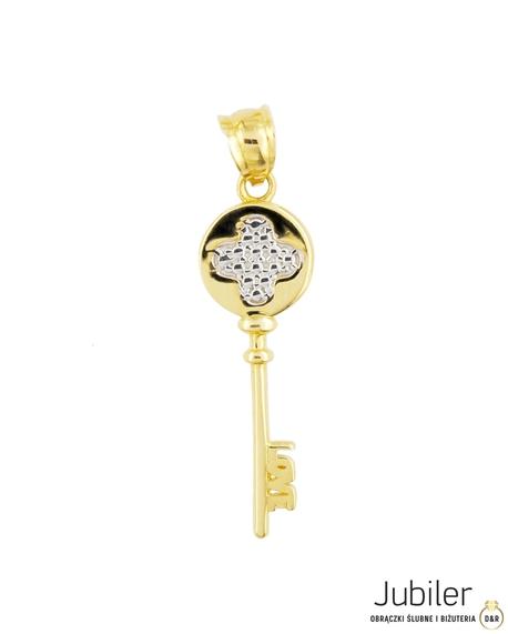 Wisiorek złoty pr.585 Klucz  (1)