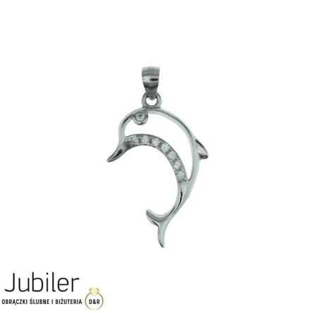 Wisiorek srebrny pr.925 Delfin  (1)