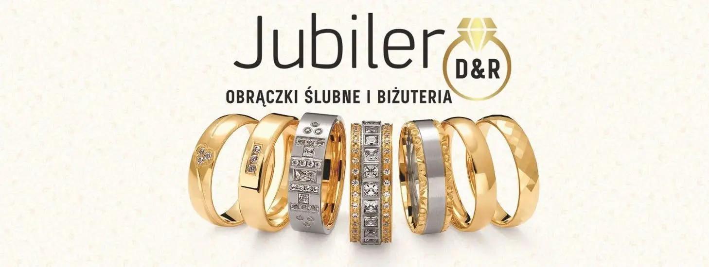 Jubiler obrączki ślubne złote pierścionki biżuteria złota i srebrna